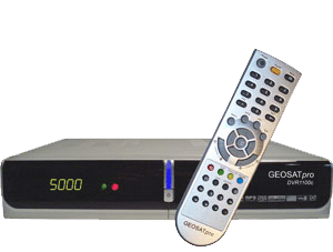 GEOSATpro DVR1100c satellite receiver image