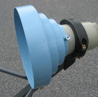 Conical scalar ring kit for offset dish image