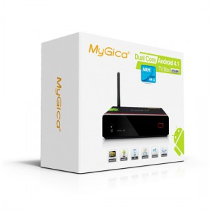 MyGica ATV 1200 Android 4.1 Dual Core Smart Tv Box image