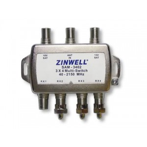Zinwell SAM-3402 3x4 Multi-switch image