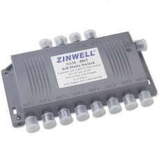 Zinwell SAM-4803 4x8 multiswitch image